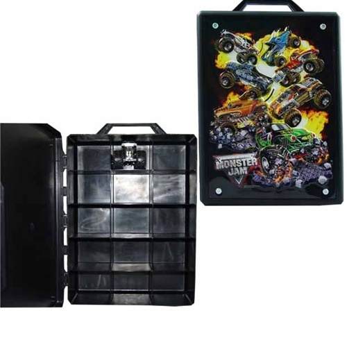 Monster Jam Hot Wheels Case