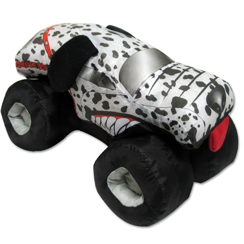 Monster Mutt Dalmatian Plush Truck