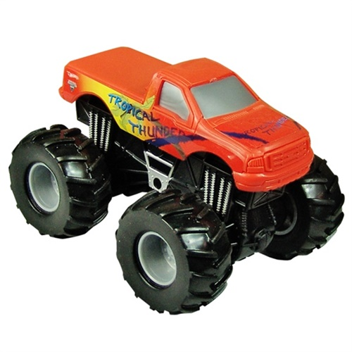 1:43 Hot Wheels Tropical Thunder Rev Tredz Truck