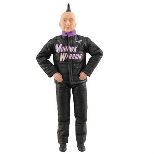 George Balhan Mohawk Warrior Action Figure
