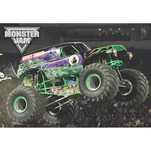 Monster Jam Grave Digger Pillowcase