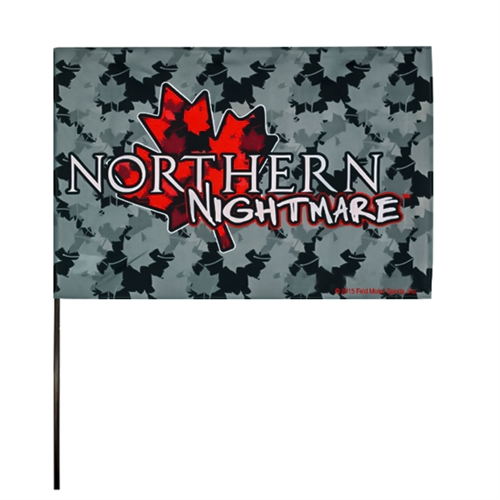 Northern Nightmare Flag (12x18 in)
