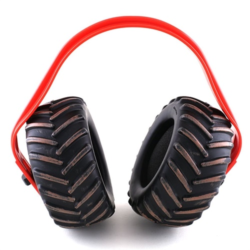 Monster Jam Tire Ear Muffs