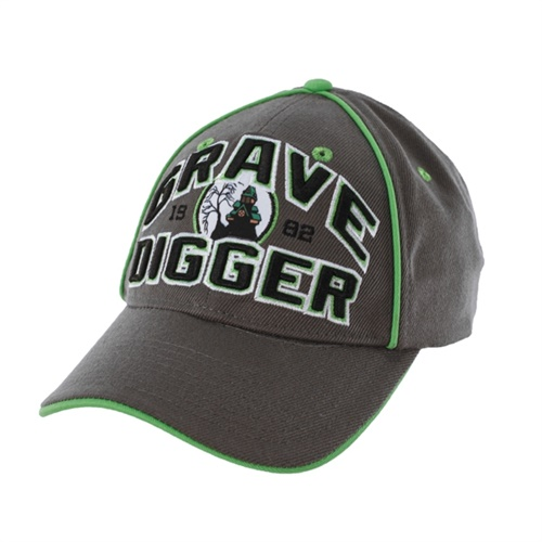 Grave Digger House Cap