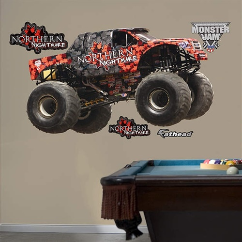 Monster Jam Northern Nightmare Fathead