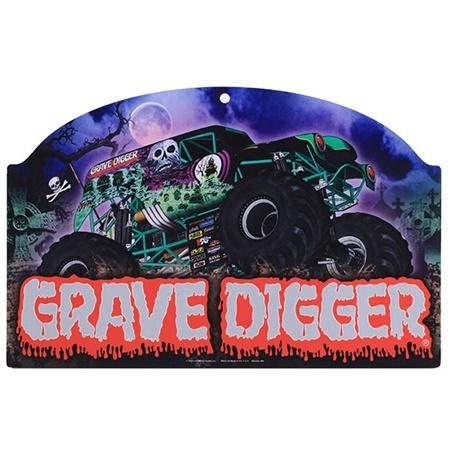 Grave Digger Wall Sign