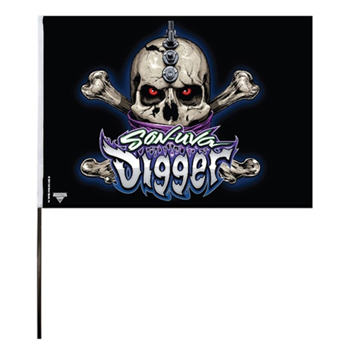 Son-Uva Digger Flag (14x22 in)