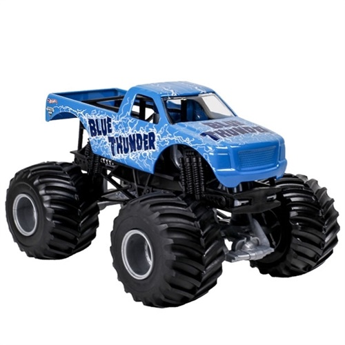 1:24 Hot Wheels Blue Thunder Truck