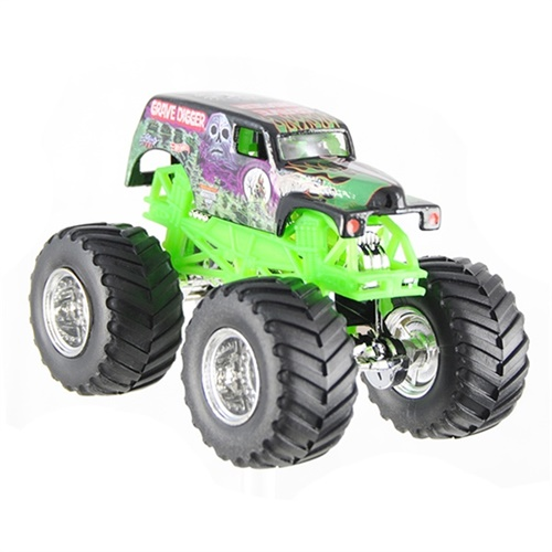 1:64 Hot Wheels Grave Digger Die Cast Truck - Crush Car Series