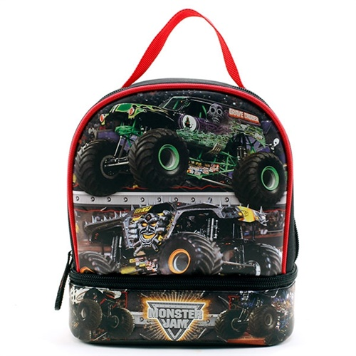 Monster Jam Stars Lunch Bag