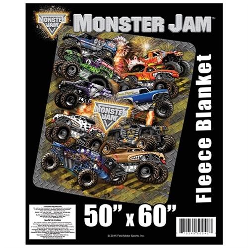 monster jam kids bedroom