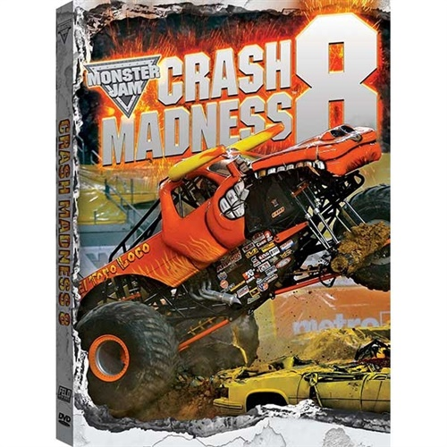 Monster Jan Crash Madness 8 DVD
