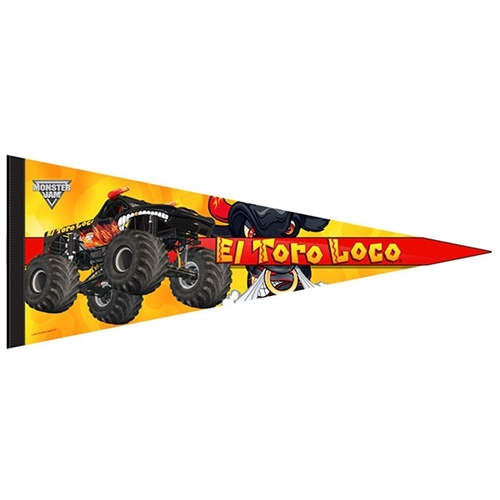 El Toro Loco Black Flag