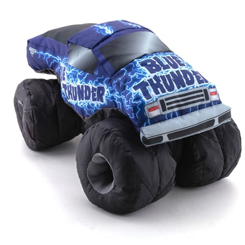 Blue Thunder Plush Truck