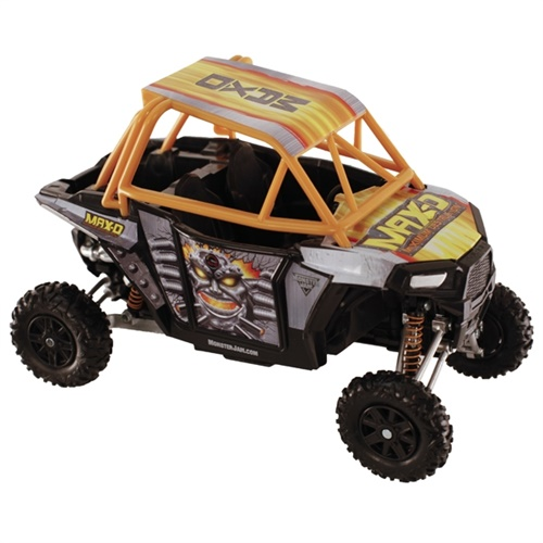 1:18 Scale Monster Jam Max-D Polaris RZR
