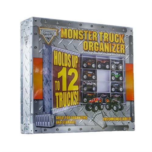 Monster Jam Monster Truck Trapper Case