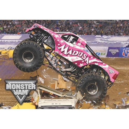 Monster Jam Madusa Pillowcase