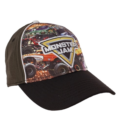 Monster Jam Trucks Cap