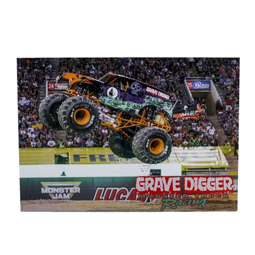 Grave Digger Orange Postcard