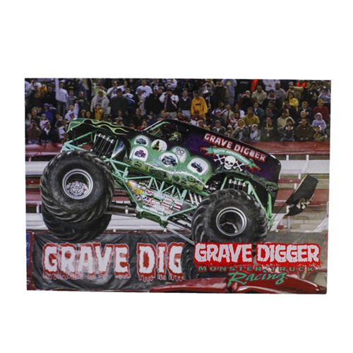 Grave Digger 20th Anniversary Postcard