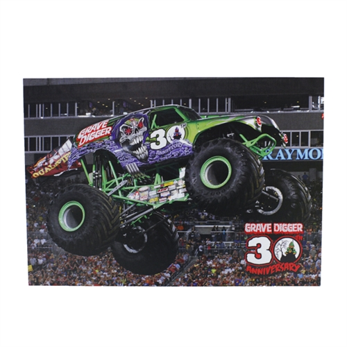 Grave Digger 30th Anniversary Postcard