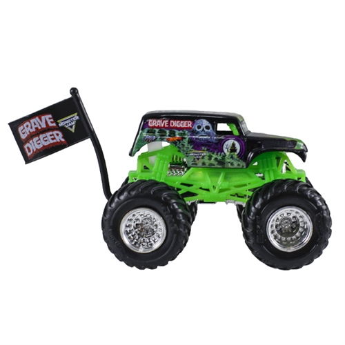 1:64 Hot Wheels Grave Digger Truck - Flag Series - 1/10 Tour Favorites