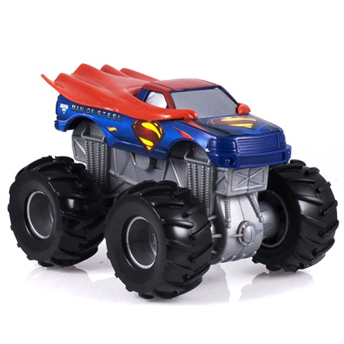 1:43 Hot Wheels Man Of Steel Rev Tredz Truck