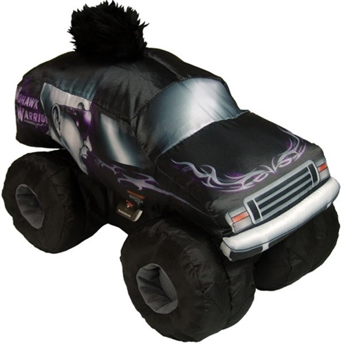 Mohawk Warrior Plush Truck