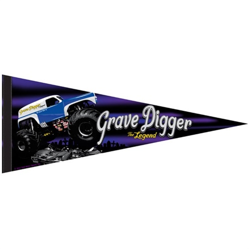 Grave Digger The Legend Flag