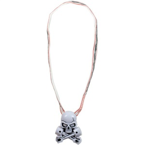 Grave Digger Skull Necklace
