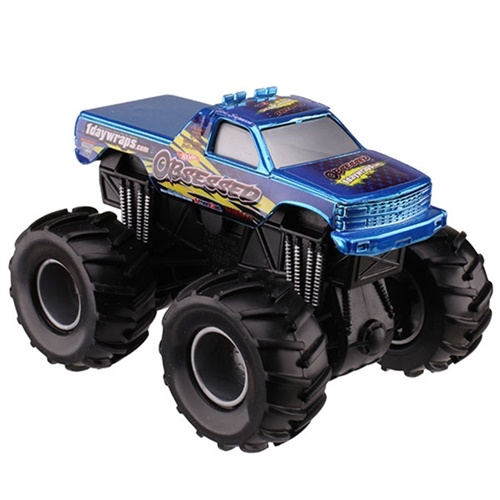 1:43 Hot Wheels Obsessed Rev Tredz Truck