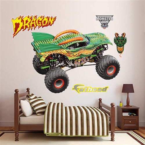 Monster Jam Dragon's Breath Fathead