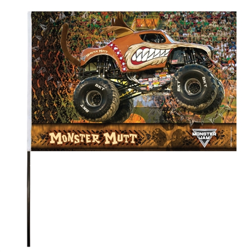 Monster Mutt Flag (14x22 in)