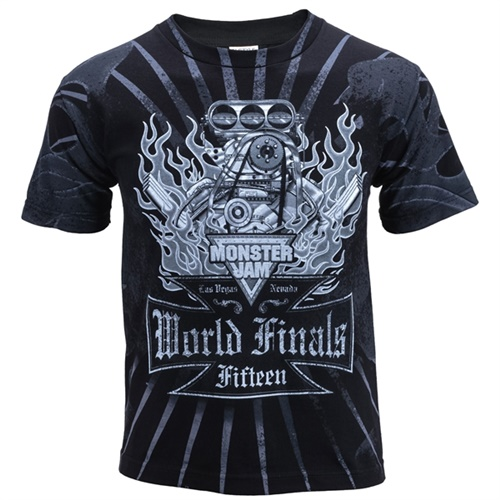 World Finals XV Motor Tee - Youth Medium