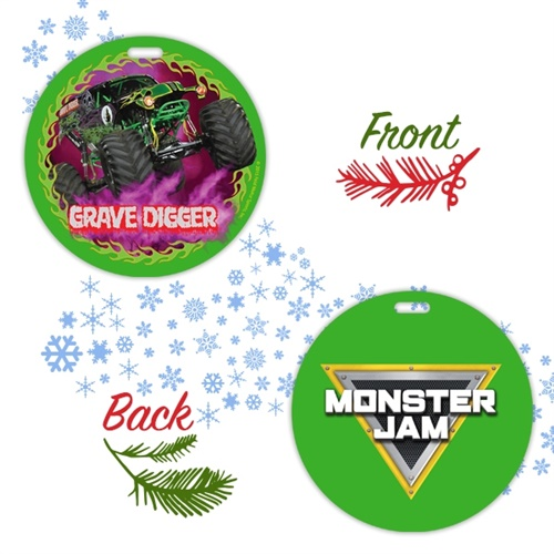 Grave Digger Holiday Ornament