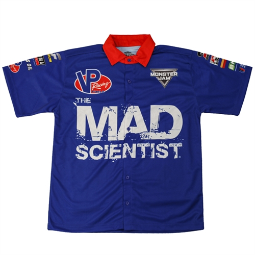 Mad Scientist Youth Driver Shirt - Youth Medium