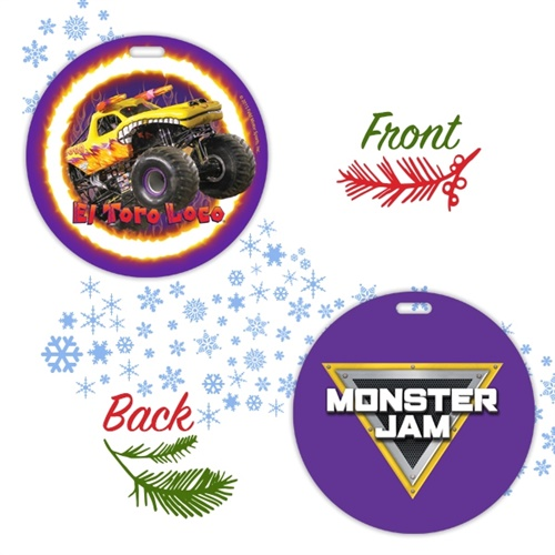 El Toro Loco Holiday Ornament