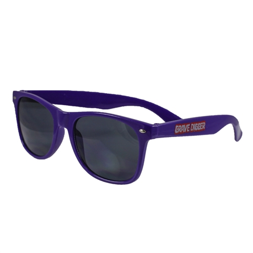 Grave Digger Purple Sunglasses