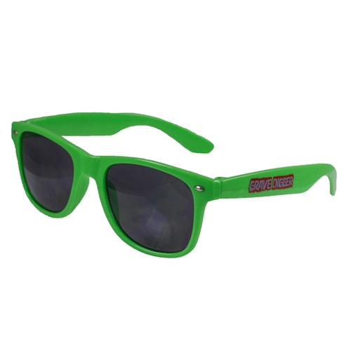 Grave Digger Green Sunglasses
