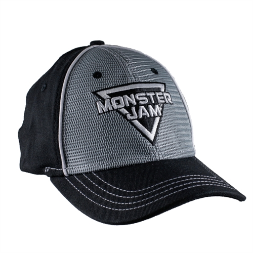Monster Jam Triple World Finals Grey Front Cap
