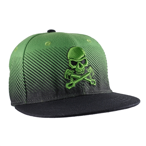 Grave Digger Green Spikes Cap