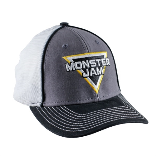 Grey Monster Jam Cap