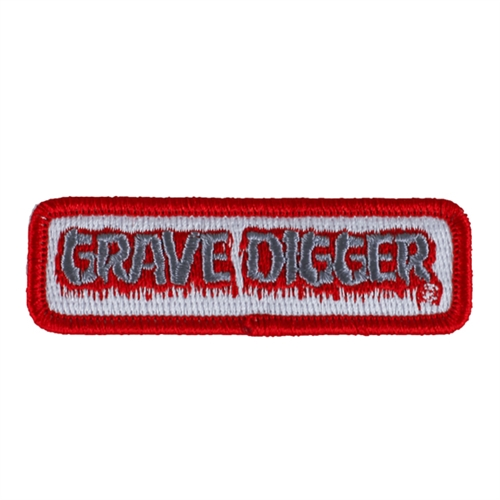 Grave Digger Iron On Patch