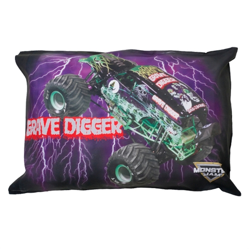 Grave Digger Pillow Case