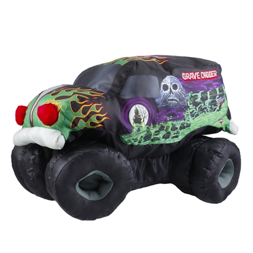Grave Digger Plush Truck