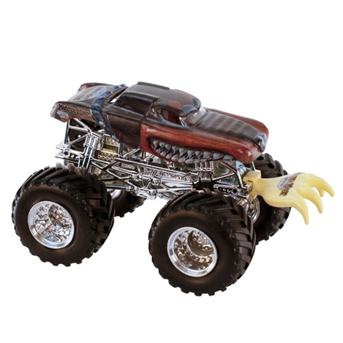 1:64 Hot Wheels X-Ray Body Monster Mutt Rottweiler Truck - Battle Slammer Series