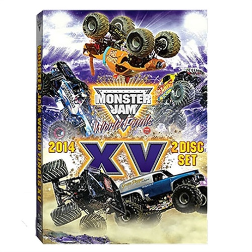 Monster Jam World Finals XV DVD