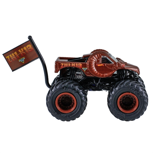 1:64 Hot Wheels Zombie Hunter Truck - Flag Series - 3/10 Creatures