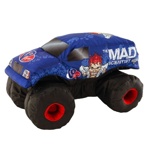 Mad Scientist Plush Truck