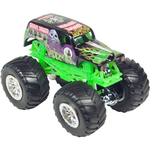 1:64 Hot Wheels Grave Digger Die Cast Truck - Traveler Series